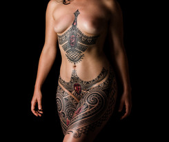 Female empowerment tattoo Coen Mitchell Tattoo Gold Takapuna Tattoo Studio Auckland New Zealand