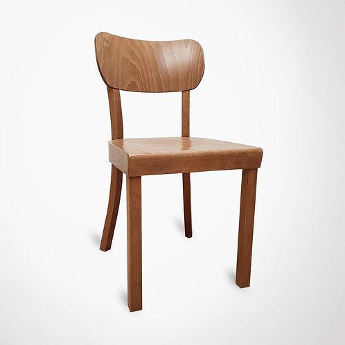Chaise en bois style danois