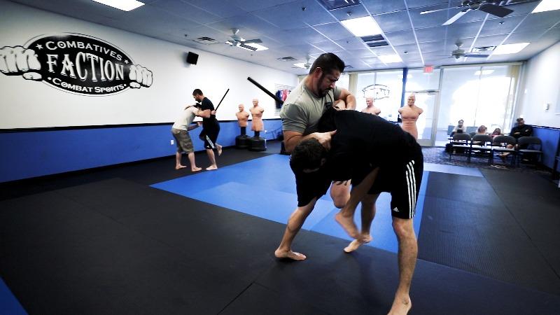 knees in krav maga classes in mesa