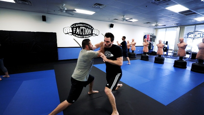 defending stick in krav maga classes