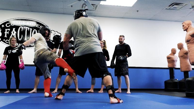 muay thai kickboxing class in mesa