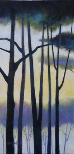 Sunset through the Trees II