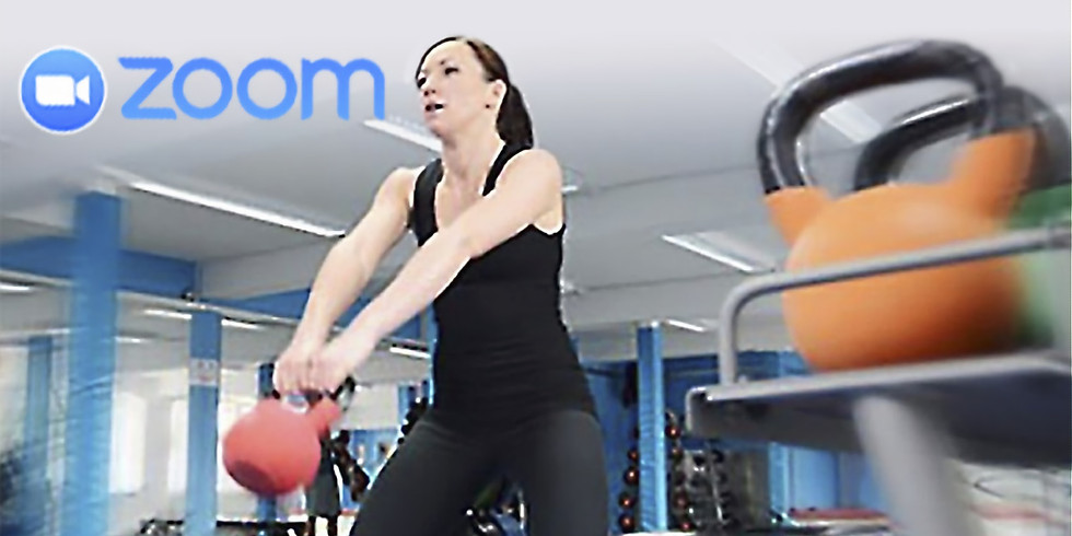 Mon 6:30 pm Group Personal Training on Zoom