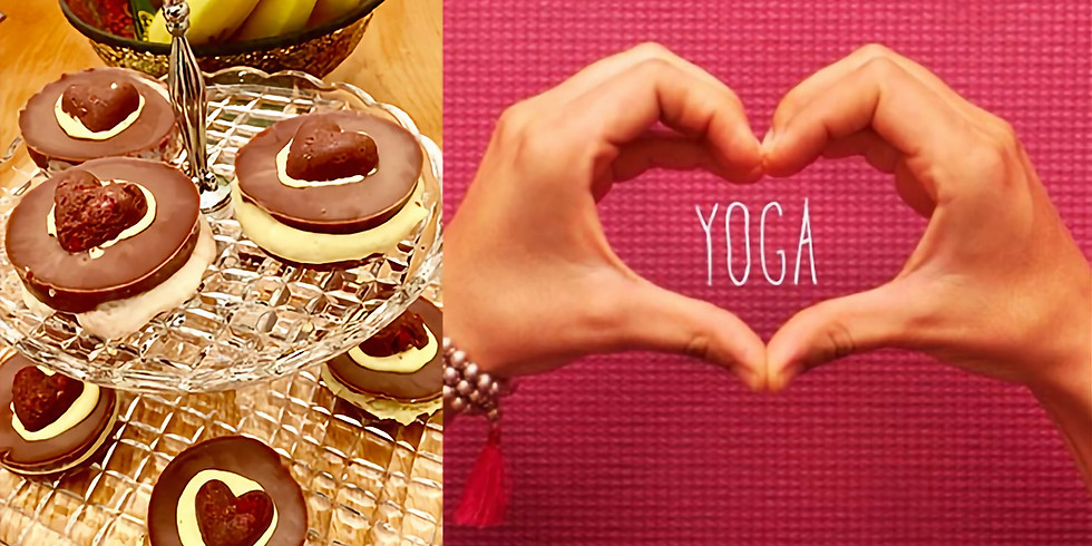$90 Gift Certificate: 60 min Private Yoga Session for One, Tea with Chocolate
