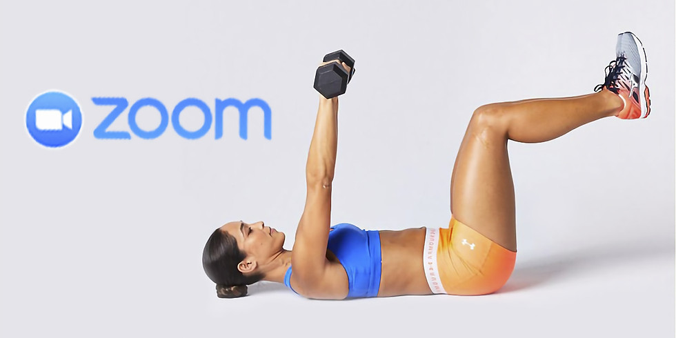 Tue 6:30 pm Total Body Toning on Zoom