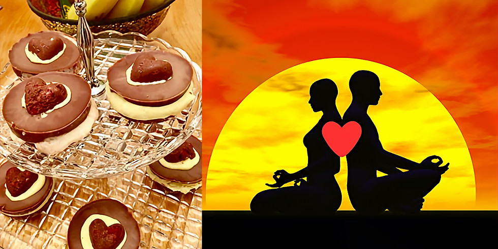$100 Gift Certificate: 60 min Private Yoga Session for Two, Tea with Chocolate