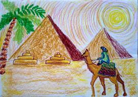 Чухонцева Нина 8л. Возле пирамид.jpg