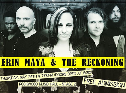 Erin Maya and The Reckoning - Rockwood S