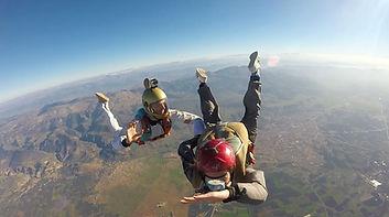 Vidéo stage avec Af Para saut en parachute Lyon