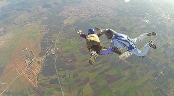 LE SAUT D'INITIATION P.A.C avec AF PARA au Maroc