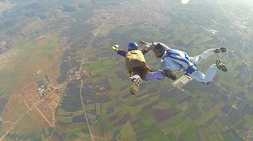 af para saut parachute alpes