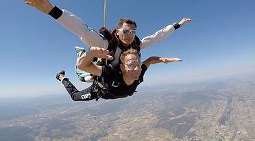 sauten parachutetandem Maroc