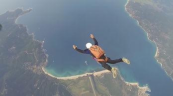 AF Para bapteme saut en parachute st Galmier