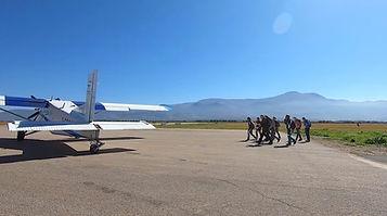 af para.com saut Initiation PAC au MarocStage pour faire du parachutisme et saut d'initiation PAC au Maroc