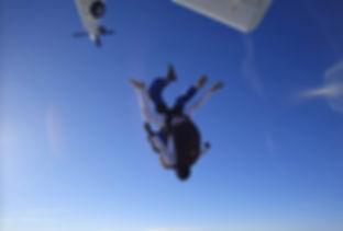 af para saut en parachute accompagné Lyon