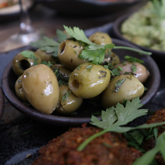 Olives With Mint