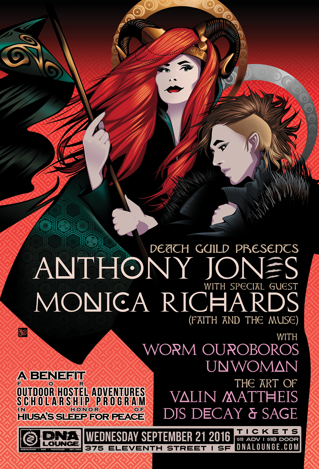 Anthony Jones | Monica Richards