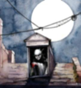 NS Nosferatu watercolor