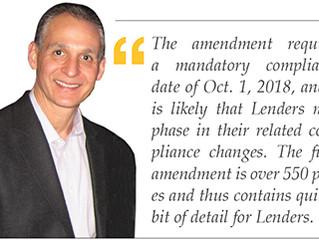 KEY POINTS OF TRID'S FINAL AMENDMENT