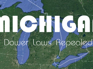 Elimination of Dower in Michigan