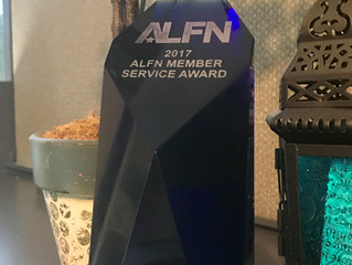 Potestivo & Associates Recognized with the ALFN Member Service Award at the ALFN Answers Confere