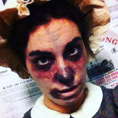 Zombie in The Importance of Being Earnest with Zombies