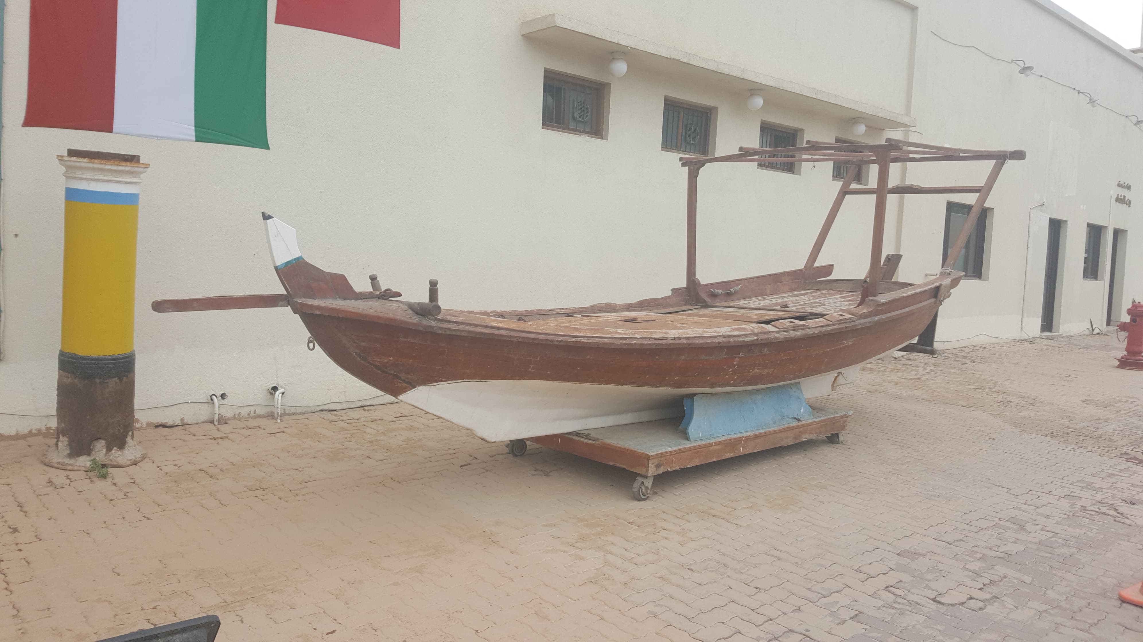 Kuwait traditional boat (Dhow)
