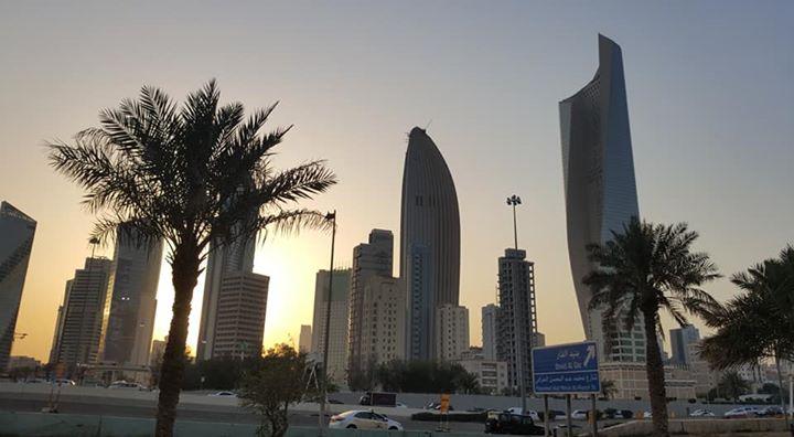 Kuwait City at Dusk