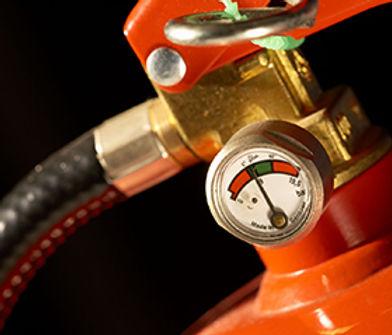 Gauge of Fire Extinguisher