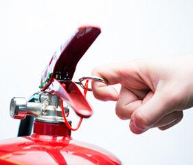 Pulling Leaver Fire Extinguisher