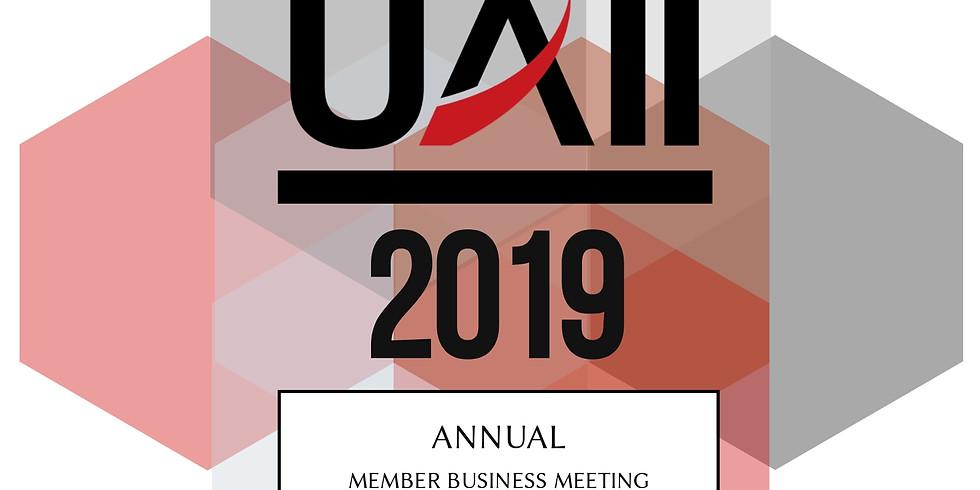 2019 Annual Member Business Meeting