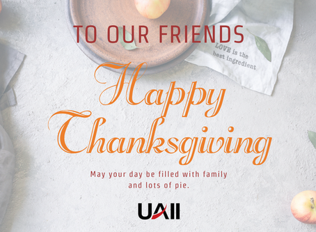We have a lot to be thankful for....