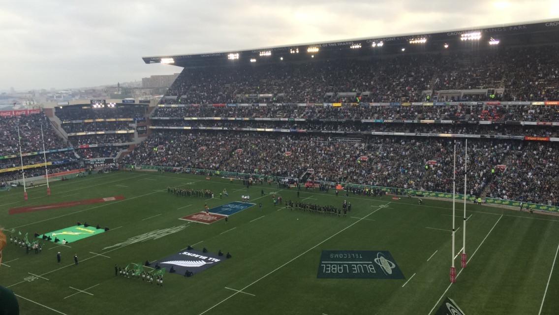 Rugby Match in Durban (Springboks of Sou