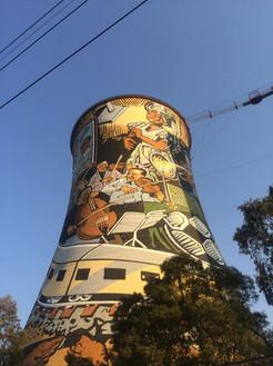 Soweto, biggest township near Johannesbu