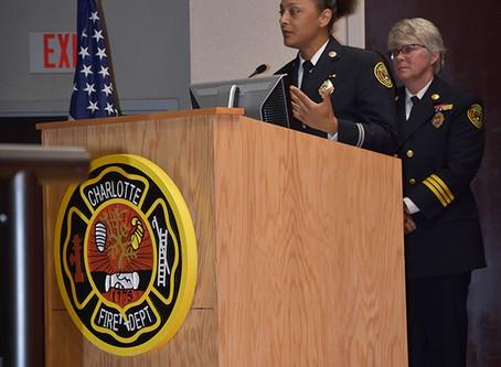 Johnson C. Smith University Alumni Makes History with Charlotte Fire Department