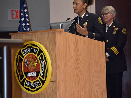 Johnson C. Smith University Alumni Makes History with Charlotte Fire Department