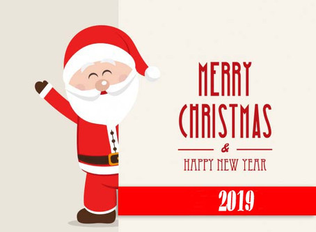 MERRY CHRISTMAS/ HAPPY NEW YEAR 2019