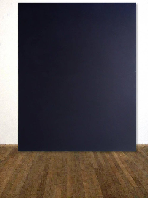 DUNKELBLAUES BILD 120x150cm BLUE NAVY ABSTRACTCOLORFIELDPAINTING AFTER ROTHKO