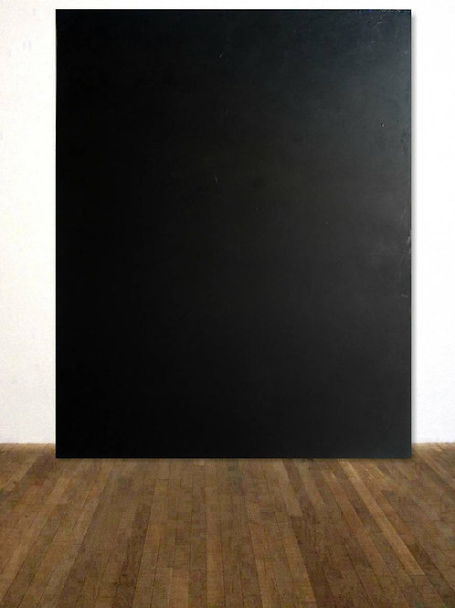 SCHWARZES BILD 120x150cm BLACK ABSTRACT COLORFIELDPAINTING AFTER ROTHKO