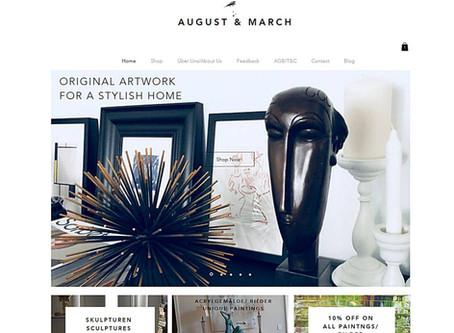 Seite im neuen Design/ Relaunched