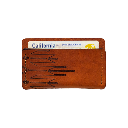 (H6) Horizontal Slim Wallet