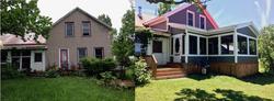 porch and siding