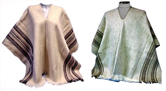 Ruana lisa lana
