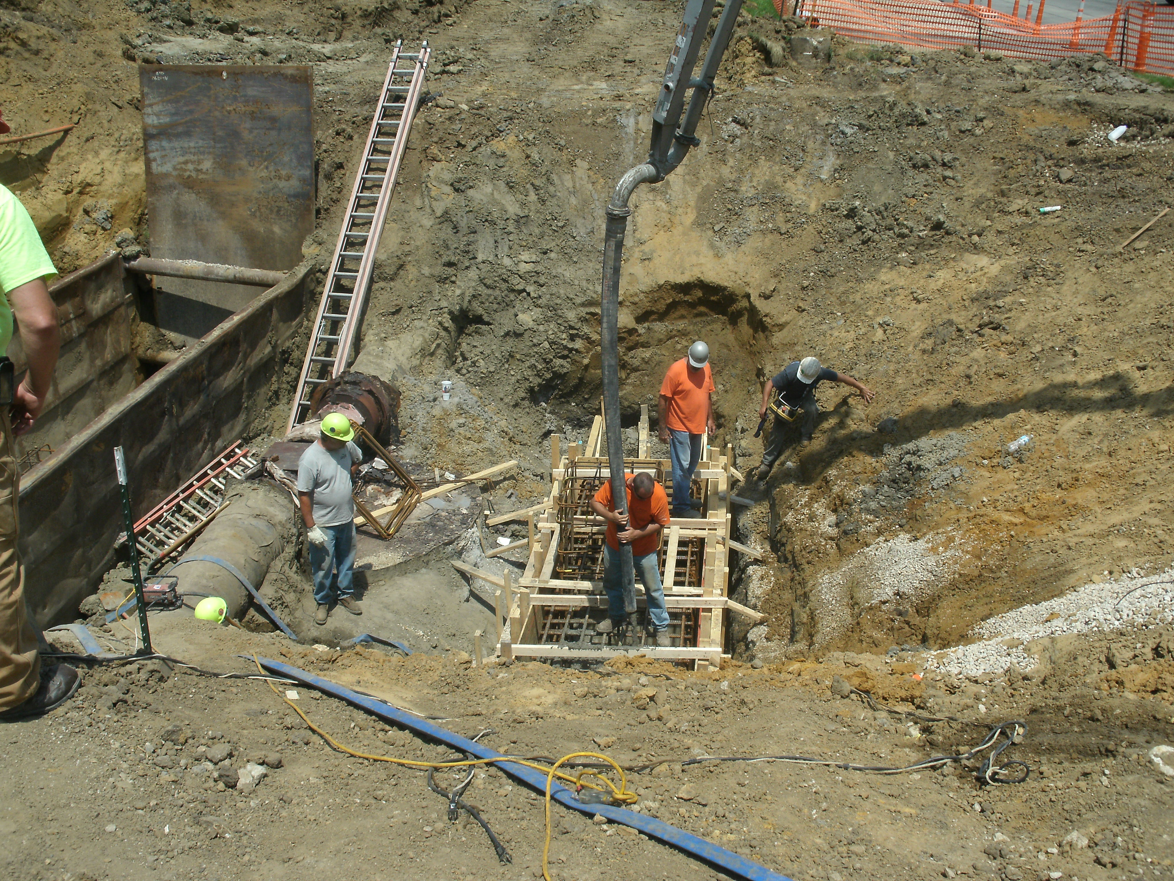 Blahnik Construction Foundation Excavation Concrete Cedar Rapids