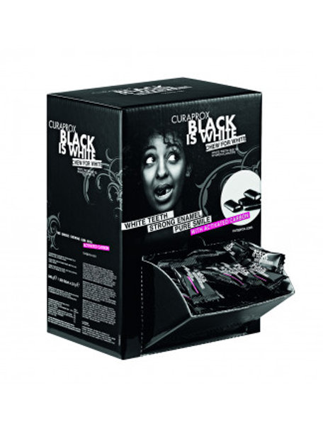Black is White Chewing Gum - Flow Pack Special