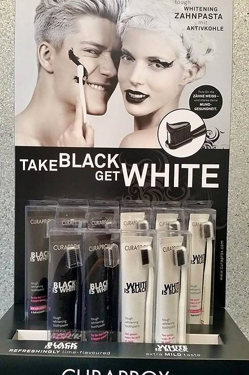 Black is White/White is Black Display (12 count)