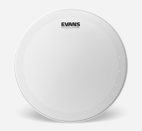 """EVANS - SNARE Coated HD DRY - Peau caisse claire 14"""" - Batter"""