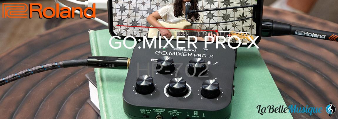 ROLAND - GO:MIXER PRO-X