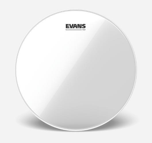 """EVANS - TOM G2 Clear - Peau de tom 12"""" - Batter"""