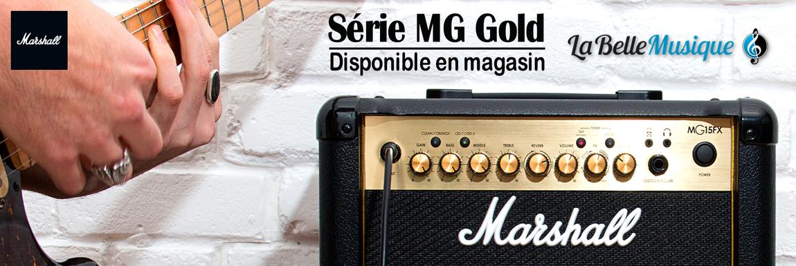 MARSHALL - Série MG GOLD